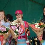 podium filles course de Mons