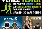Animation SKINS/GARMIN chez i-Run.fr !