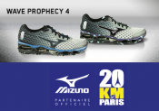 La MIZUNO WAVE PROPHECY 4