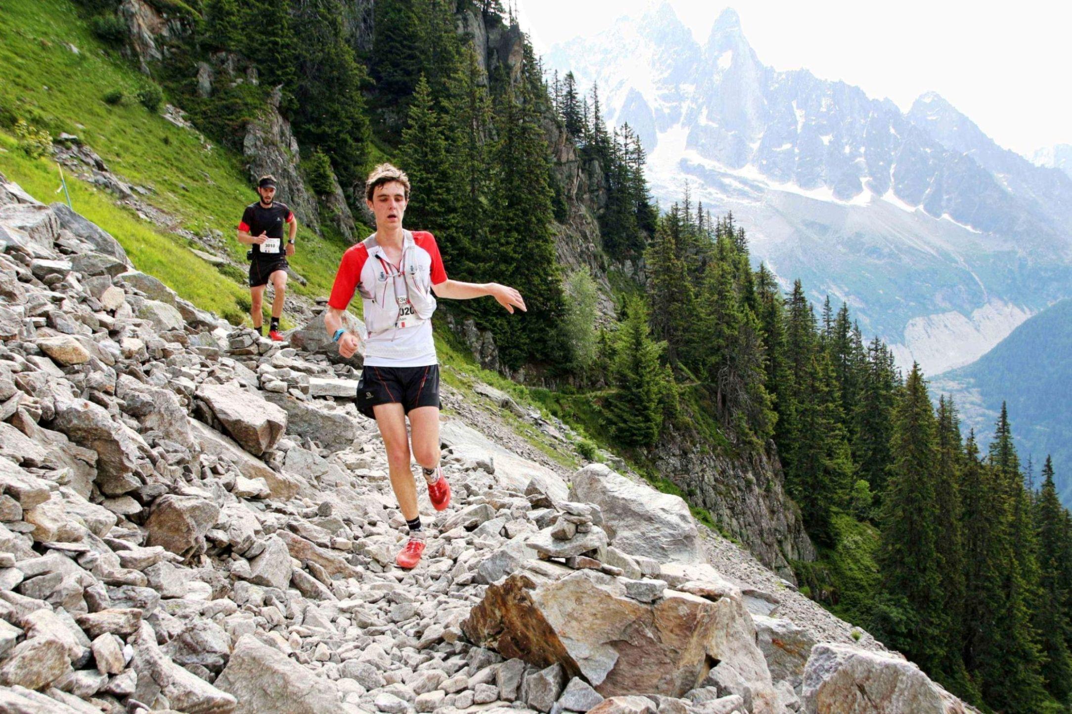 marathon du mont blanc retour gagnant pour le suisse marc lauenstein u run