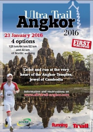 affiche Ultra Trail d'Angkor