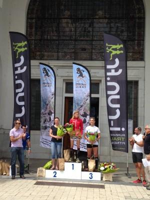 podium femmes Luchon Aneto Trail 15km