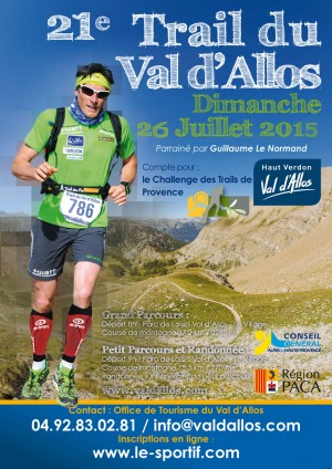 Flyer Val d'Allos 2015