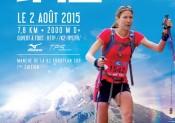 Double km vertical K2 VILLAROGER (73) 2 août 2015