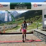 Trail du Mont Cenis- arrivée Sylvaine CUSSOT