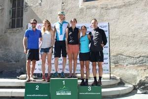 podium scratch 48km Trail Edf Cenis Tour