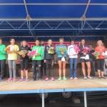 Podium femmes 10 miles du festival interceltiques de Lorient
