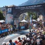 arrivée de Xavier Thevenard, vainqueur utmb 2015