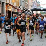 Ubaye Trail Salomon 2015 départ 25 km photo Robert Goin