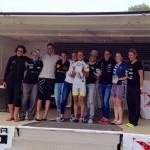 podium XTERRA ENGLAND