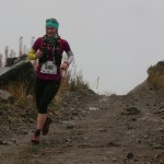 0céane Boutarin 1ère 28 km Serre Che Trail Salomon 2015 photo Robert Goin