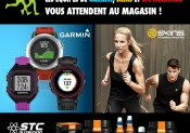Animations GARMIN/ SKINS/ STC NUTRITION chez i-Run.fr Labège