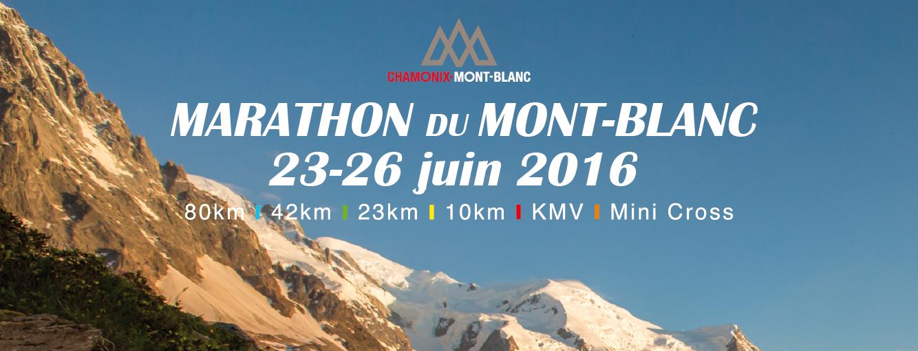 marathon du mont blanc 2016 r 233 sultats des tirages au sort u run