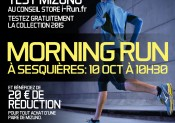 Animations MIZUNO aux Conseil Stores i-Run.fr de Toulouse