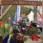 Arrivée Nicolas Miquel trail des Templiers