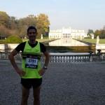 jérome Sordello au Marathon de Venise
