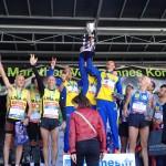 podium championnat de france de marathon