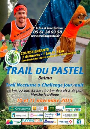 Trail du Pastel 2015