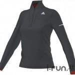 adidas maillot climaheat 1 2 zip w vetements femme 99555 1 z 150x150