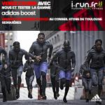 animation adidas chez i-Run.fr