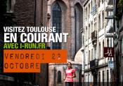 Sightjogging : i-Run.fr vous propose de visiter Toulouse en courant !