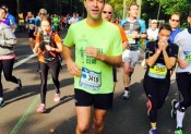 Son premier 20km à Paris !