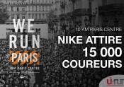 10 Km Paris Centre : Nike mobilise 15 000 coureurs