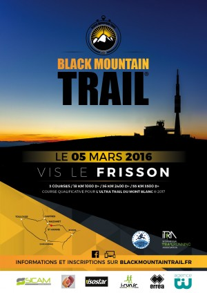 Affiche Black Mountain Trail