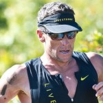 Lance Armstrong: vainqueur d'un trail local en Californie