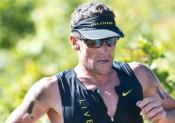 Lance Armstrong : vainqueur d'un trail local en Californie