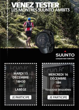 Ainmation Suunto chez i-Run.fr