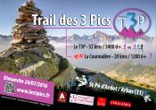 Seconde édition du Trail des 3 Pics le 24 Juillet 2016