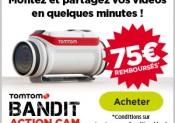 Bénéficiez de 75 euros de remboursement sur l'achat d'une TomTom Bandit