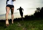 COURIR PIEDS NUS (Getty Images)