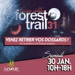dossard-forest trail