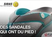 TEST : Les sandales 3D Coolday de Sidas