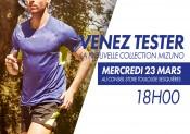 Testez les produits MIZUNO chez i-Run.fr !
