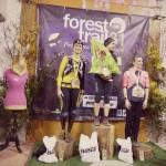 podium féminin 42km forest trail