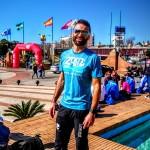 Christophe Noclain au marathon de Séville