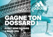 Deux dossards à gagner pour le semi-marathon de Paris