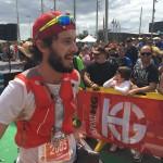 Thibaut Baronian vainqueur Maratón de la Transgrancanaria photo Arnaud Baronian