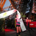 arrivée Sylvaine CUSSOT-80km (@ChristopheGuiard)