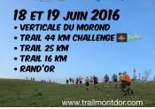 Gagnez votre dossard pour le Trail du Mont d'Or 2016