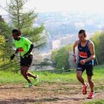 L U T 35 km de g à d Hélio Fumo 1 et Sébastien Spehler 2 photo Goran Mojicevic Passion Trail