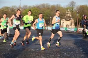 marathon de paris début de course
