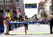 vainqueur marathon de boston