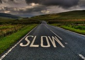 Savoir ralentir pour courir vite