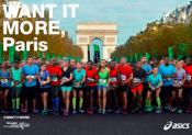 ASICS prolonge avec le marathon de Paris jusqu'en 2019 !