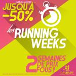 Les running weeks