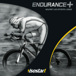 gamme Endurance+ Isostar